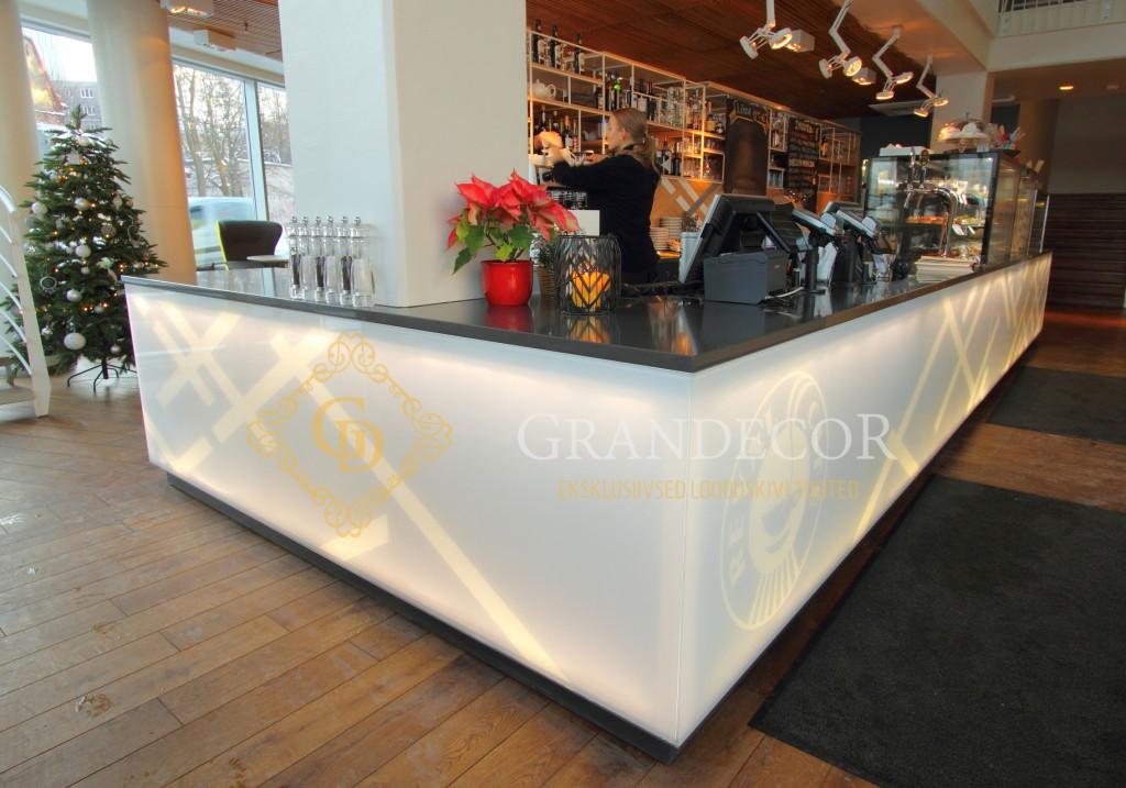 Portfolio grandecor for Anthracite cafe